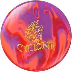 EBONITE Cyclone Purple/Orange/Red