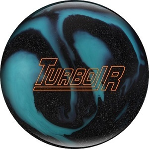 EBONITE Turbo/R Black Sparkle/Aqua